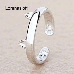 Other - Cat Adjustable Ring